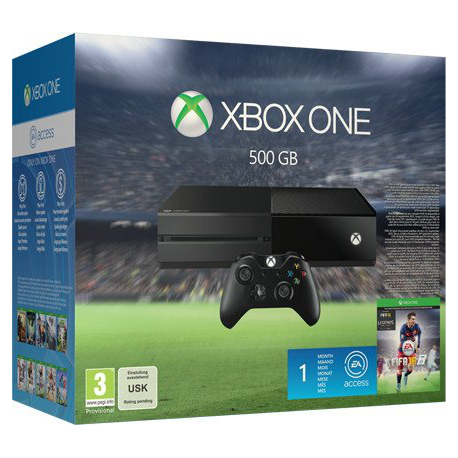 XBOX One Basic 500 GB + Fifa 16   (nowa)