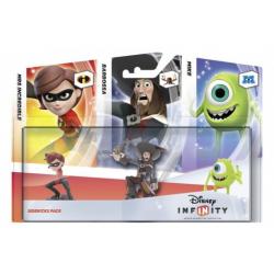 Disney Infinity 1.0 Mrs Incredible Barbossa Mike