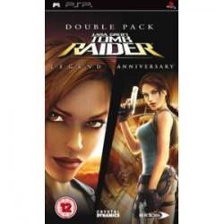 Double Pack: Lara Croft Tomb Raider Legend vs Anniversary [ENG] (używana) (PSP)