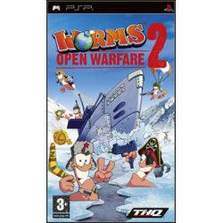 Worms Open Warfare 2 [ENG] (używana) (PSP)