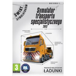 Symulator transportu specjalistycznego 2013 [POL] (nowa) (PC)