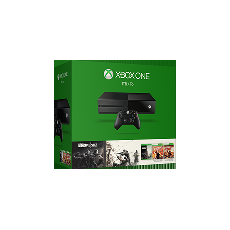 Konsola XBOX ONE 1 TB TOM CLANCY'S RAINBOW SIEGE (nowa)