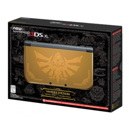 New Nintendo 3DS XL Hyrule Edition (nowa)