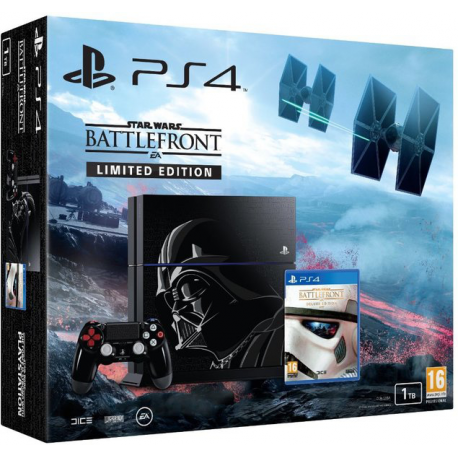 PLAYSTATION 4 1 TB Darth Vader Limited Edition + SW Battlefront NOWA