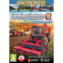 Farming Simulator 15 Oficjalny Dodatek 2 [POL] (nowa) (PC)