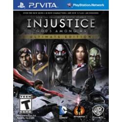 INJUSTICE: GODS AMONG US ULTIMATE EDITION [ENG] (używana) (PSV)