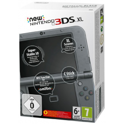 NEW NINTENDO 3DS XL METALLIC BLACK (nowa)