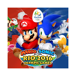 Mario and Sonic at the Rio 2016 Olympic Games + Brelok Mario and Sonic[ENG] (nowa) (WiiU)