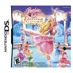 Barbie in the 12 dancing princese [ENG] (używana) (NDS)