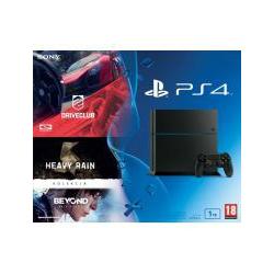 KONSOLA PS4 + DRIVECLUB + KOLEKCJJA HEAVYRAIN + BEYOND (nowa)