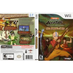 AVATAR THE LEGEND OF AANG THE BURNING EARTH[GER] (używana) (Wii)