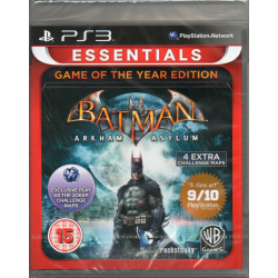 BATMAN ARKHAM ASYLUM  GAME OF THE  YEAR EDITION [ENG] (nowa) (PS3)