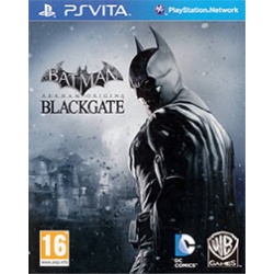 BATMAN  ARKHAM  ORIGINS BLACKGATE - THE DELUXE EDITION GER] (używana) (PSV)