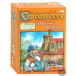 Carcassonne Opactwo i Burmistrz (nowa)