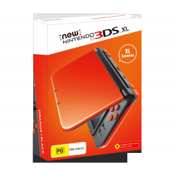 New Nintendo 3DS XL Orange + Black (nowa)