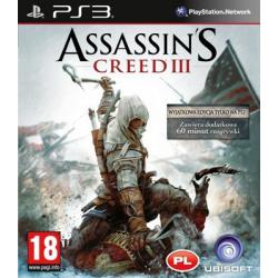 ASSASSIN'S  CREED III[POL] (używana) (PS3)