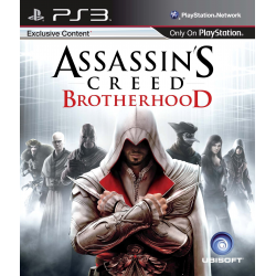 ASSASSIN'S  CREED BROTHERHOOD [ENG] (używana) (PS3)