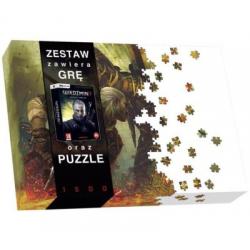 WIEDZMIN 2 + PUZZLE ATAK (nowa)