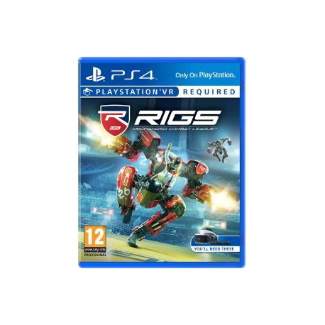 RIGS MECHANICAL COMBAT LEAGUE (używana) (PS4)