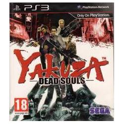 YAKUZA DEAD SOULS[ENG] (używana) (PS3)