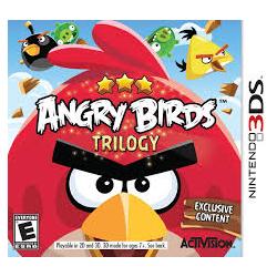 ANGRY BIRDS TRILOGY[ENG] (używana)(3DS)