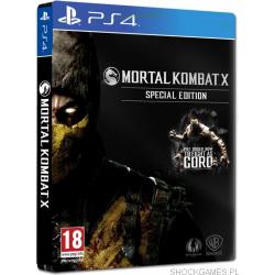 MORTAL KOMBAT X SPECIAL EDITION[POL] (używana) (PS4)