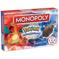 MONOPOLY POKEMON KANTO EDITION (nowa)