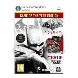 BATMAN ARKHAM CITY GAME OF THE YEAR EDITION[POL] (nowa) (PS3)