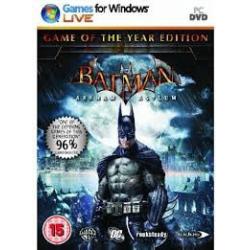 BATMAN ARKHAM ASYLUM GAME OF THE YEAR EDITION[POL] (nowa) (PC)