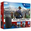 Playstation 4 Slim 1 tb CUH-2016B +WATCH DOGS+WATCH DOGS 2[POL] (nowa) (PS4)