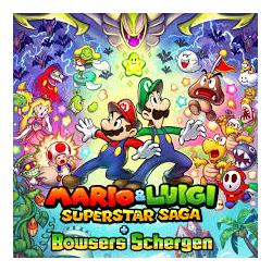 MARIO and LUIGI SUPERSTAR SAGA + BOWSERS SCHERGEN (nowa) (3DS)