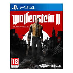WOLFENSTEIN II THE NEW COLOSSUS [POL] (używana) (PS4)