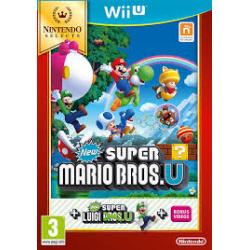 NEW SUPER MARIO BROS.U+NEW SUPER LUIGI [ENG] (używana) (WiiU)