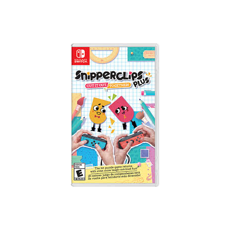 SNIPPERCLIPS PLUS [ENG] (nowa) (Switch)