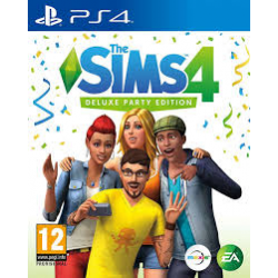 SIMS 4 DELUXE PARTY EDITION [POL] (nowa) (PS4)