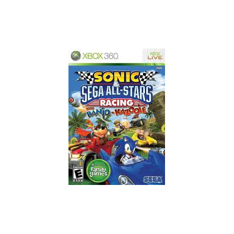 SONIC SEGA ALL-STARS RACING WITH BANJO KAZOOJE [ENG] (nowa) (X360)