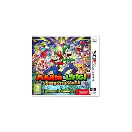 MARIO and LUIGI SUPERSTAR SAGA + BOWSERS MINIONS [ENG] (nowa) (3DS)