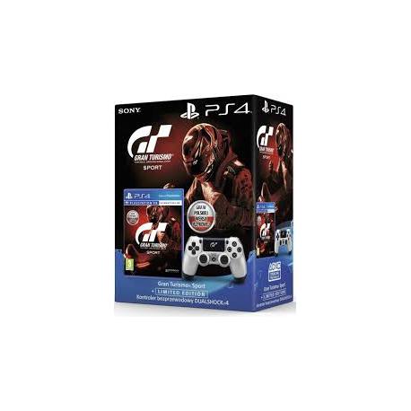 GRAN TURISMO SPORT + LIMITOWANY DUALSHOCK 4 V2 PS4 [POL] (nowa) (PS4)