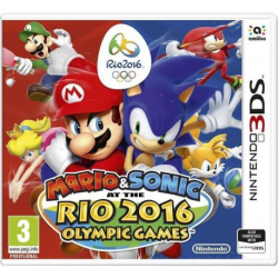 Mario and Sonic Rio 2016 Olympic Games [ENG] (używana) (3DS)