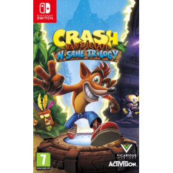 Crash Bandicoot N.sane Trilogy [ENG] (nowa) (Switch)