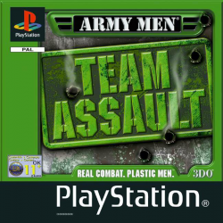 Army Men Team Assault [ENG] (używana) (PS1)