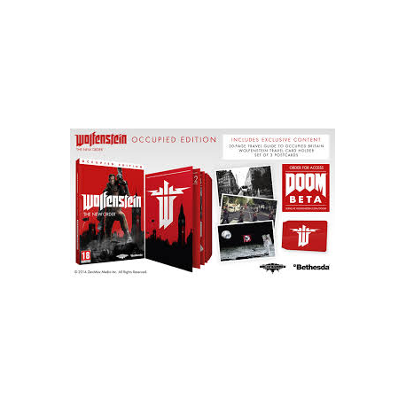 WOLFENSTEIN THE NEW ORDER OCCUPIED EDITION [POL] (nowa) (PS3)