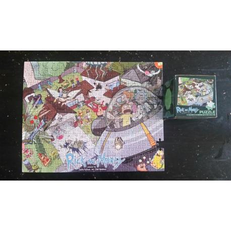 Puzzle Rick i Morty (nowa)