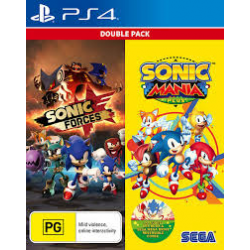 Sonic Mania Plus i Sonic Forces Double Pack [ENG] (nowa) (PS4)