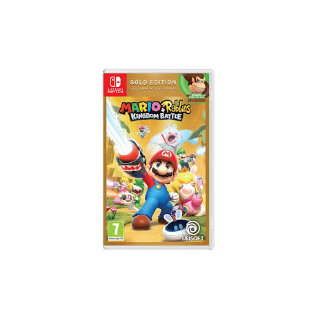 mario + rabbids kingdom battle gold edition [ENG] (nowa) (Switch)