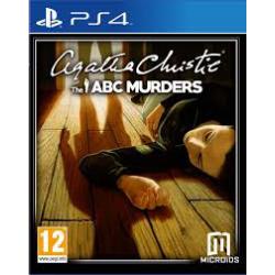 AGATHA CHRISTIE THE ABC MURDERS [POL] (używana) (PS4)