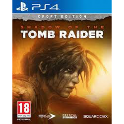 SHADOW OF THE TOMB RAIDER CROFT EDITION [POL] (nowa) (PS4)