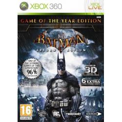 Batman Arkham Asylum GOTY [ENG] (używana) (X360)