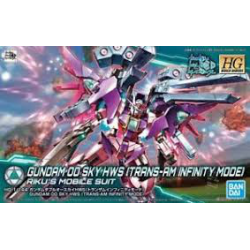 1/144 Gundam 00 Sky Hws Trans-am Infinity Mode (nowa)