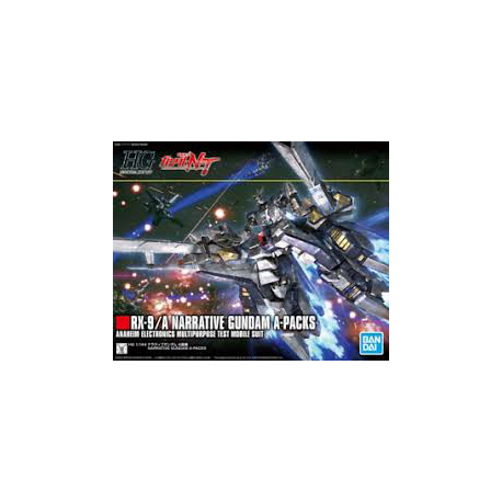 1/144 Narrative Gundam A Equipment Kit Mobile Suit Gundam (nowa)